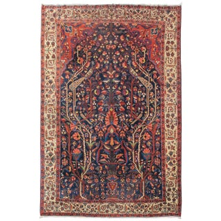 Magical Directional Bakhtiari Carpet - 10′5″ × 15′7″ For Sale