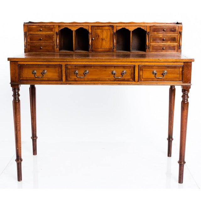 English Traditional 19th Century English Traditional Ladies Writing Table For Sale - Image 3 of 4
