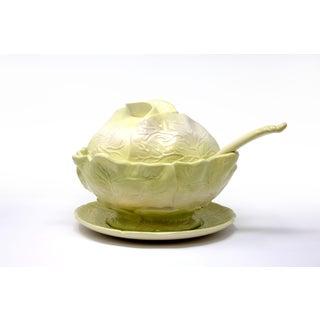 Vintage Large Cabbage Soup Tureen Set - Set of 11 Preview