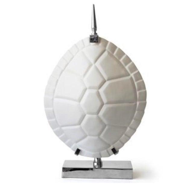 Jonathan Adler Tortoise Shell Lamp For Sale In Los Angeles - Image 6 of 6