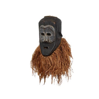 Kuba Mask Helmet African Art For Sale