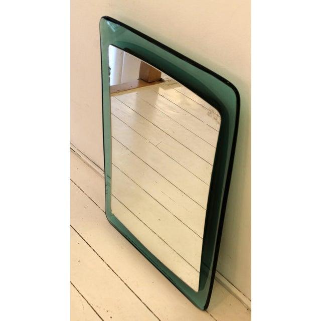 Italian Mirror Fontana Arte, 50's For Sale - Image 3 of 5