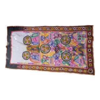 Embroidered Banjara Wall Hanging For Sale