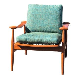 """1960s Vintage Finn Juhl France & Daverkosen Denmark """"Spade"""" Side Chair For Sale"""