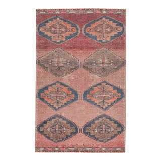 """Vibe by Jaipur Living Lani Medallion Pink/ Blue Area Rug - 7'6"""" x 9'6"""" For Sale"""