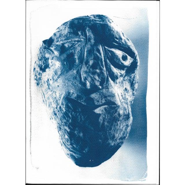 Cyanotype Print - Rock Face Sculpture - Image 5 of 5
