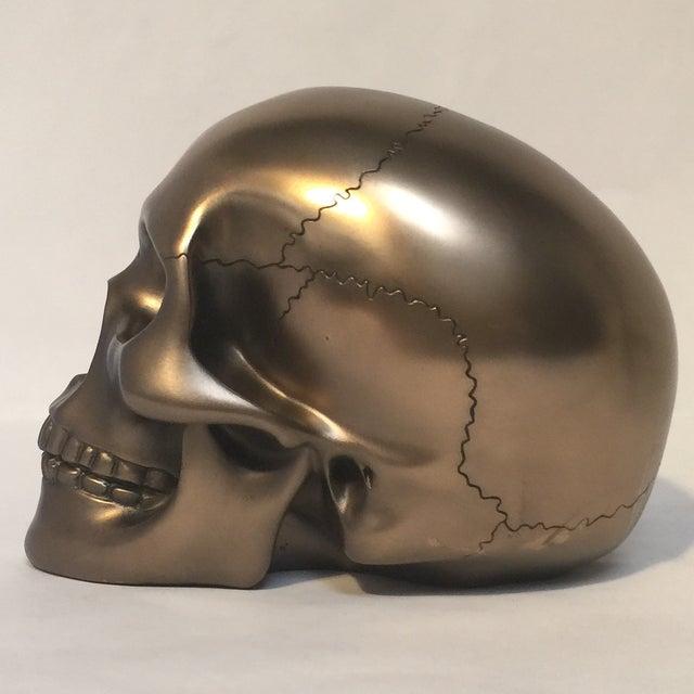 Large Bronze Skull - Image 3 of 8