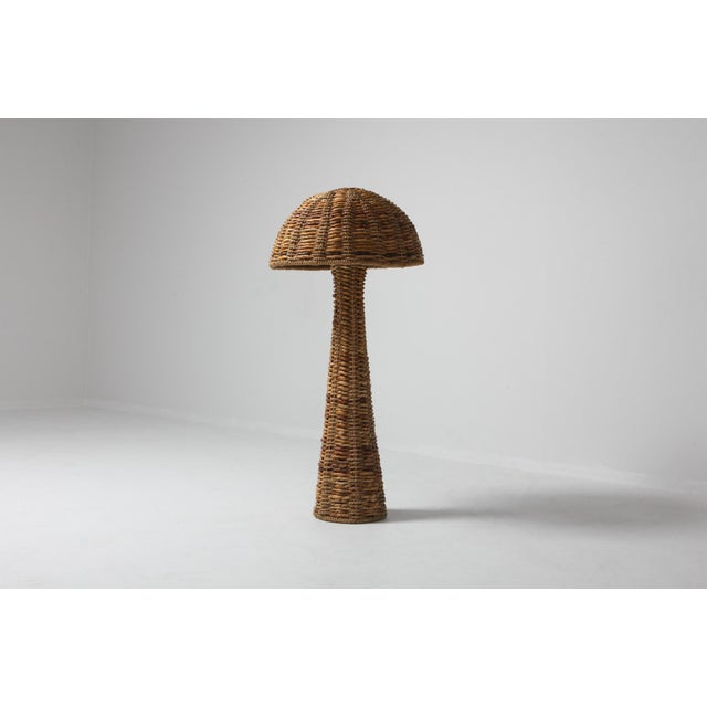 Gabriella Crespi Gabriella Crespi Style Floor Lamp in True Tropicalist Style For Sale - Image 4 of 9