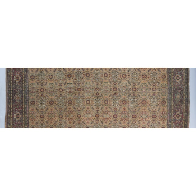 Late 19th Century Beige Ground Square Agra Carpet For Sale - Image 5 of 6