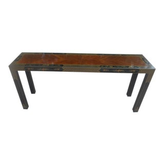 1970s Asian Drexel Heritage Console Table