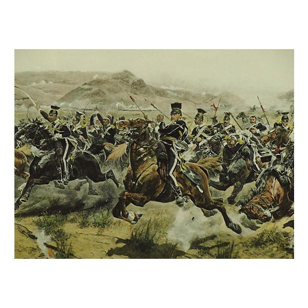 Charge of the Light Brigade Engraving For Sale - Image 4 of 8