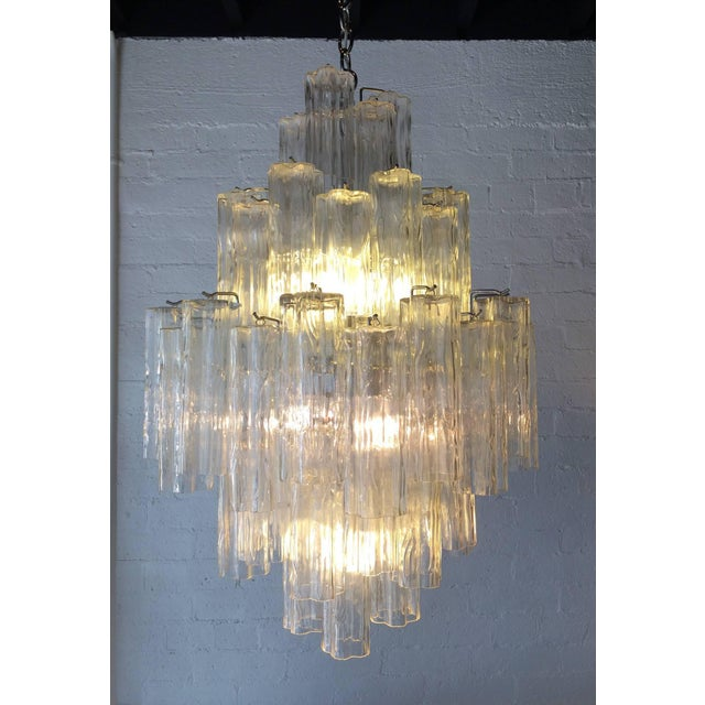 Tronchi Glass Chandelier by Venini for Murano - Image 5 of 9
