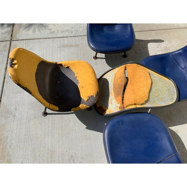 Herman Miller Eames Reconfigured One of a Kind Shell Chairs For Sale - Image 11 of 13
