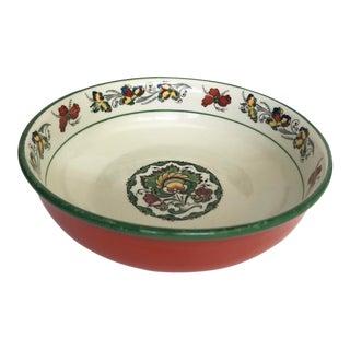 Vintage Porsgrund Norwegian Bowl For Sale