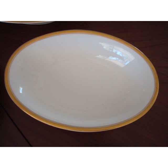 Gold And White Bavaria Dishes - Set of 30 - Image 11 of 11
