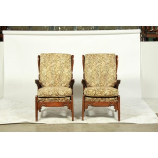 1930's French Neo-Gothic-Style Armchairs S/2 Preview