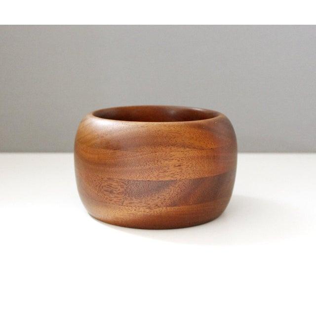 Mid-Century Vintage Teak Bowl - Image 2 of 5