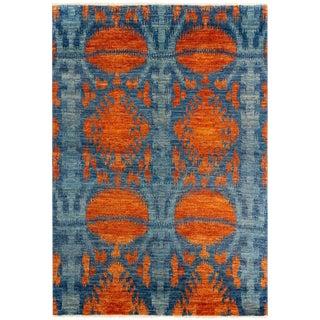 Modern Bohemian Moroccan Design Rug- 6′ × 8′11″