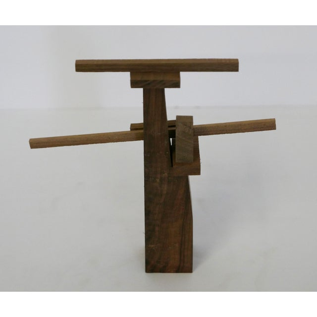Behzad Haghiri's Raw Walnut Sculpture For Sale In Palm Springs - Image 6 of 6