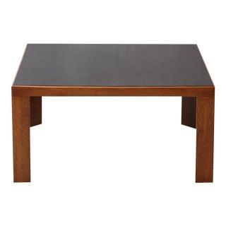 Dunbar Walnut Coffee or End Table Model # 3374 by Edward Wormley For Sale