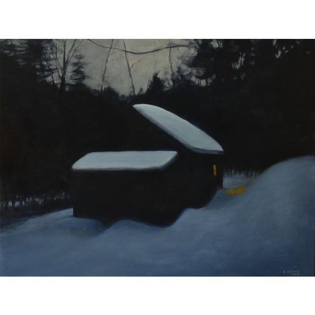 """Stephen Remick, """"Cozy"""", Contemporary Painting For Sale - Image 11 of 11"""