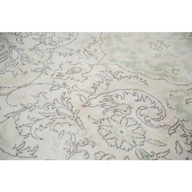"Distressed Oushak Carpet - 6'3"" X 10' - Image 8 of 8"