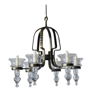 Chandelier by Erik Hoglund For Sale