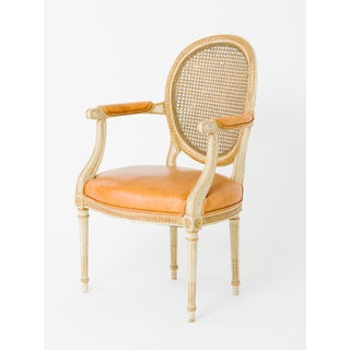 1940s Vintage Louis XVI Canedback Armchairs- a Pair Preview