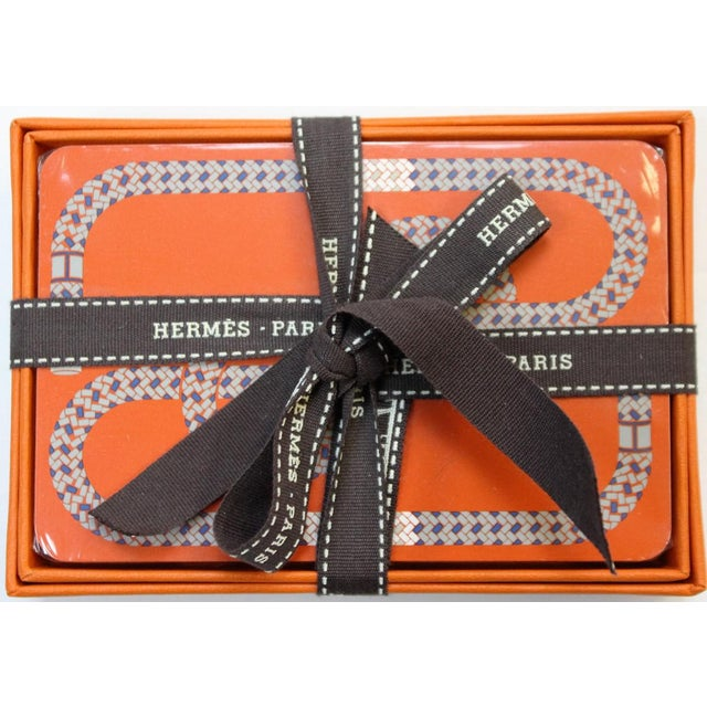 Hermes of Paris Boxed Playing Card Deck - Image 2 of 3