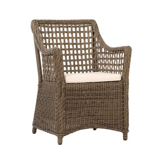 Outdoor Woven Faux Rattan Chair
