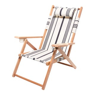 Tommy Outdoor Chair - Vintage Black Stripe For Sale
