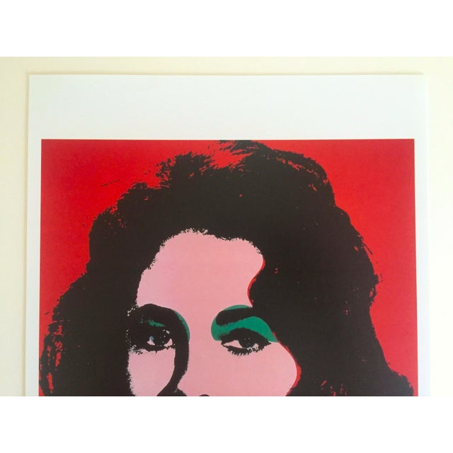 This Andy Warhol rare vintage 1989 collector's offset lithograph Pop Art print is an incredibly special and unique piece...