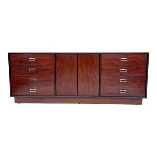 Scandinavian Modern Rosewood Bedroom Dresser For Sale