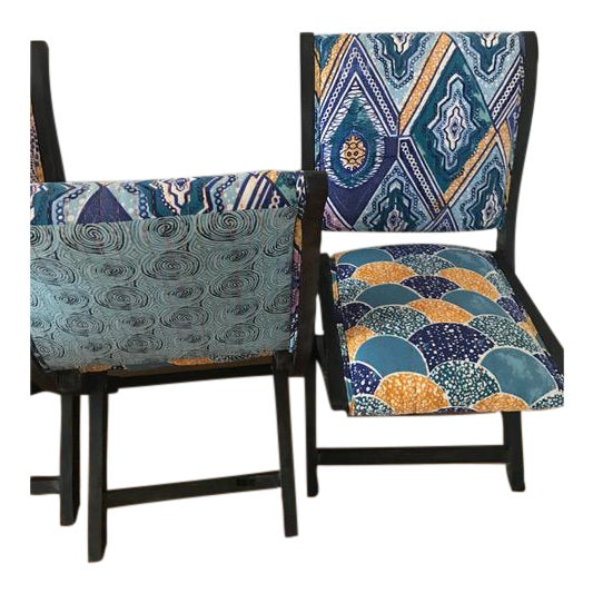 Anthropologie Terai Folding Chairs - Set of 4 - Image 1 of 5