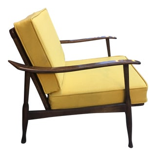 Mid Century Italian Lounge Chair by Otto Gerdau For Sale