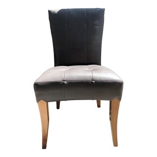 Dakota Jackson Puff Side Chair For Sale
