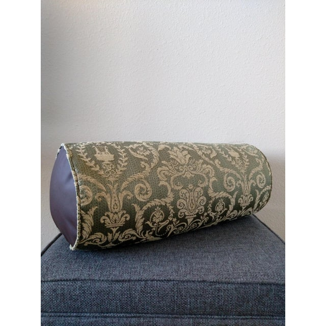Green Deneen Collection Bolster Pillow - Image 2 of 6