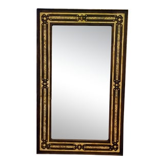 Large Moroccan Rectangular Resin Inlay Mirror For Sale