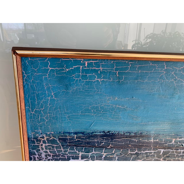 Mid-Century Seascape Painting For Sale - Image 9 of 10