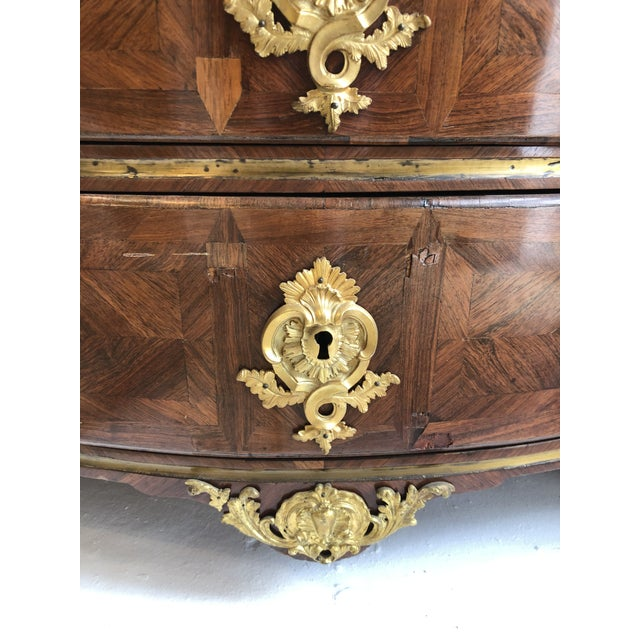 Early 18th Century French Commode With Original Marble Top For Sale - Image 11 of 13
