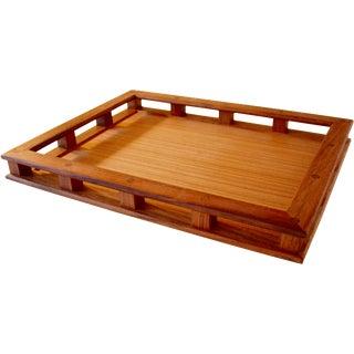 Dansk Mid-Century Modern Teak Wood Tray For Sale