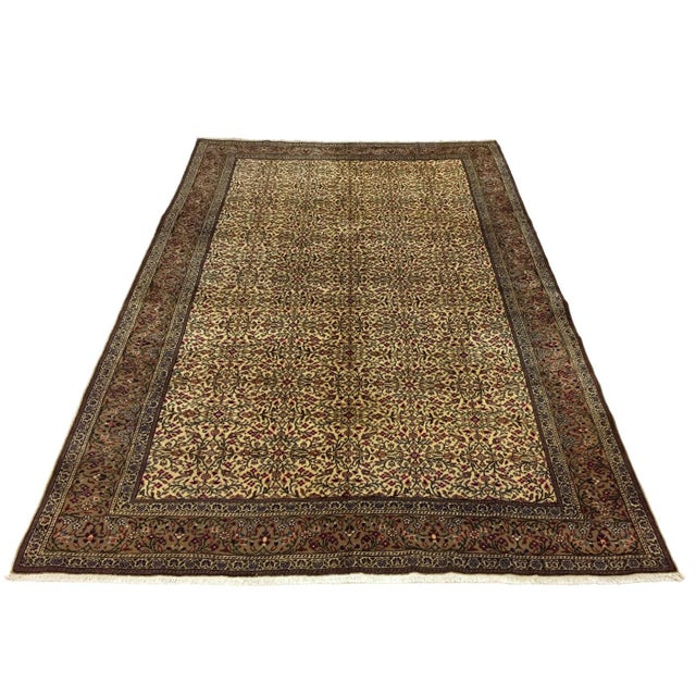 "Islamic Floral Kayseri Carpet - 6'6"" x 9'4"" For Sale - Image 3 of 5"