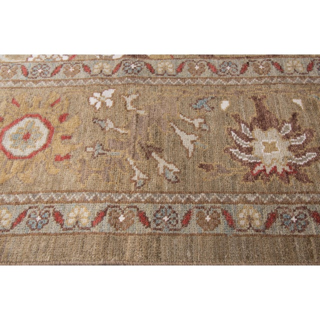"Persian Sultanabad Rug - 6'4"" x 16'5"" - Image 4 of 10"