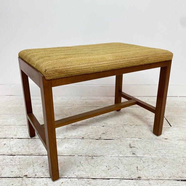 Dunbar Furniture 1960s Mid-Century Modern Dunbar Stool For Sale - Image 4 of 10