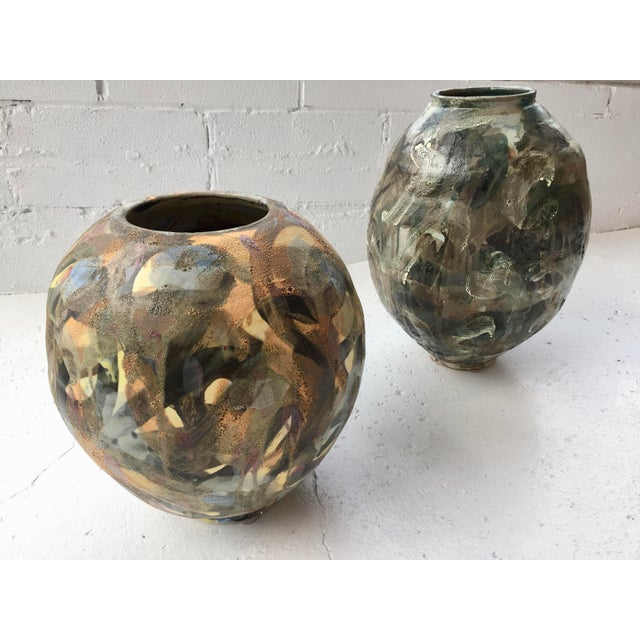 2010s Large Pot 2 From Korean-American Ceramicist David T. Kim For Sale - Image 5 of 6