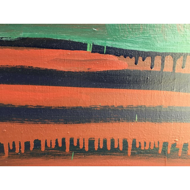 "Abstract Painting Oversized ""Cairo"" 2 by Paul Rinaldi For Sale In New York - Image 6 of 9"