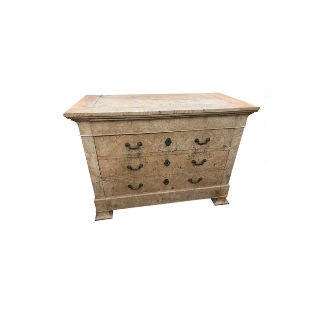 19th Century Italian Elm Commode For Sale - Image 4 of 5