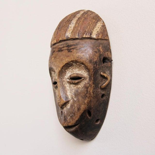 Wooden Lega Congo Mask - Image 3 of 3