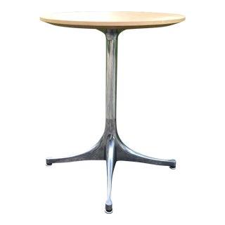 George Nelson for Herman Miller Pedestal Side Table For Sale