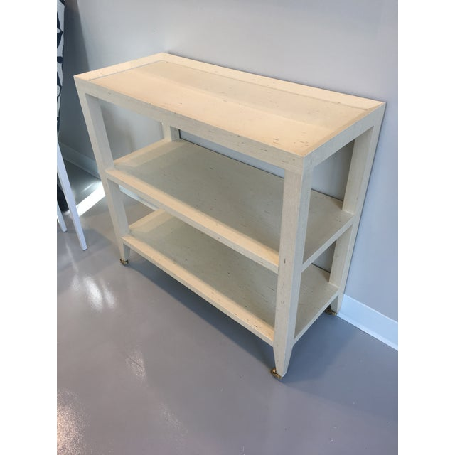 Bungalow 5 Natural Isadora Console Table For Sale - Image 4 of 4